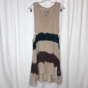 We The Free People Boho Tie Dye Sun Dress S
